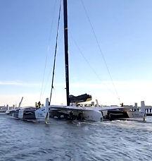 Départ ponton pour le Maxi Edmond de Rot