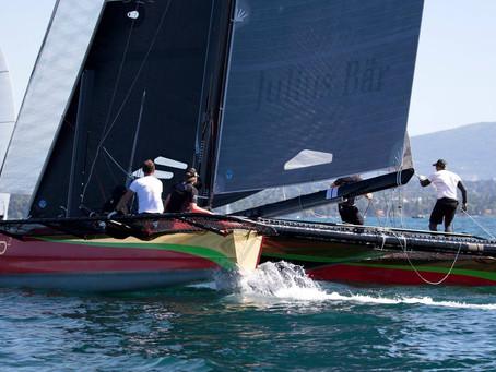 Open du yacht club, Phaedo² 9ème
