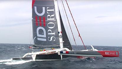 IDEC Sport 2ème départ du Jules Verne