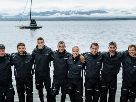 Début de saison sur l'eau pour le Spindrift racing