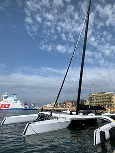 Mana amarré à Cagliari