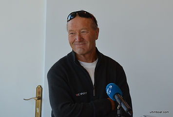 Francis Joyon au point presse IDEC Sport