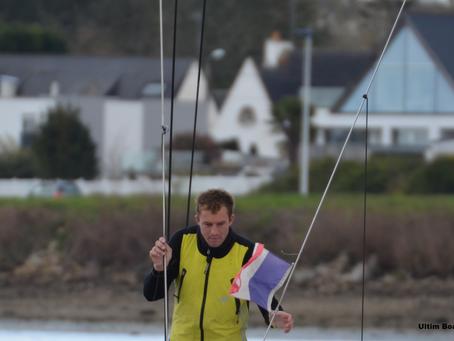 Sam Goodchild et Jack Trigger sur la Cherbourg Race