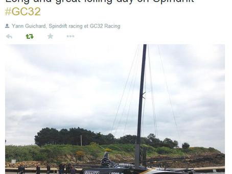 GC32 Spindrift s'entraîne à La Trinité