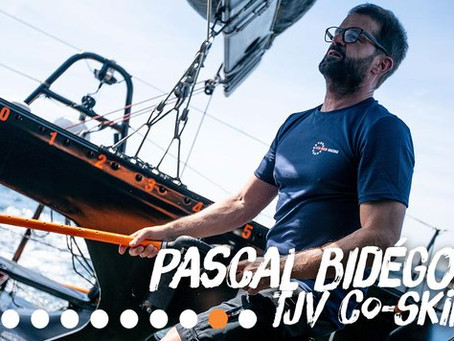 Pascal Bidegorry co-skipper sur la Jacques Vabre