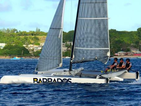Oman Sail sur le podium
