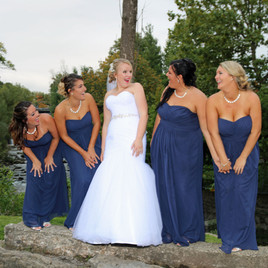 Bride and Bridesmaides