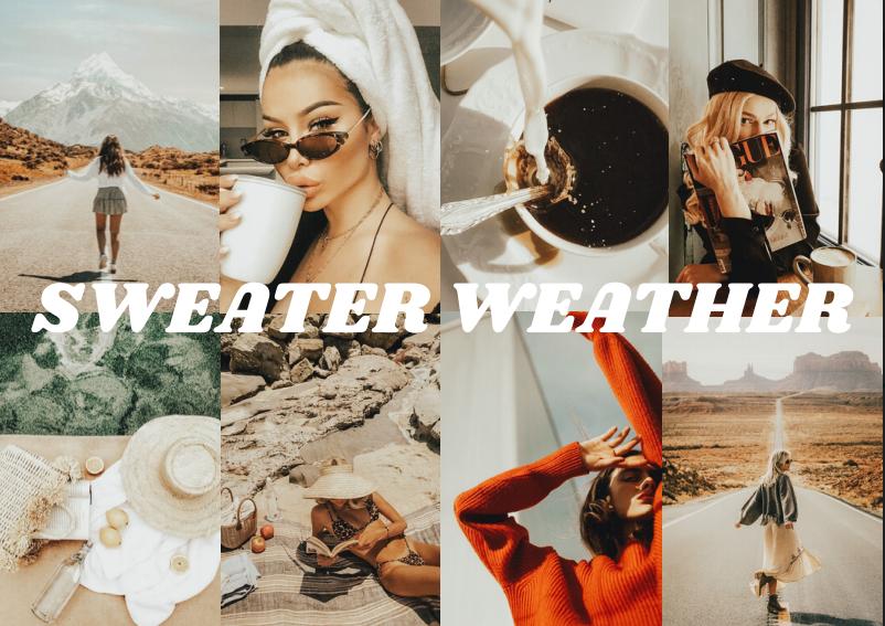 Sweater Weather LightRoom Preset