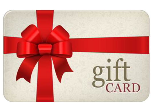 $250. Gift Cards (get an extra $20 free)