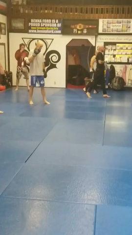 Guest Coach Ryan Lull Teaches Muay Thai Kickboxing!