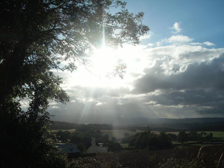 Sun and Clouds, Devon by Sara Thorne