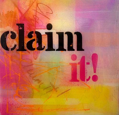 Claim it!