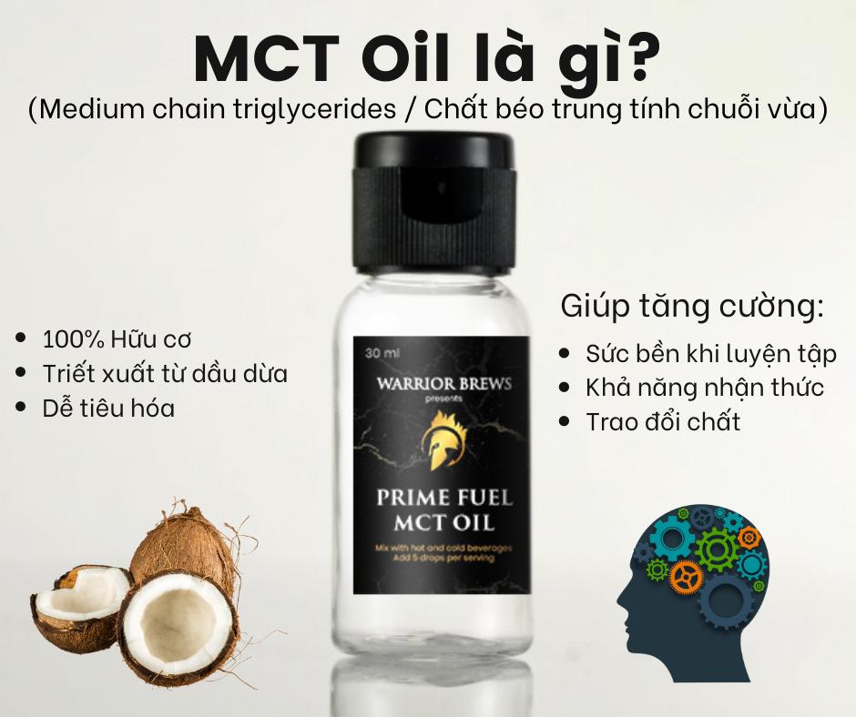 MCT Oil La Gi?