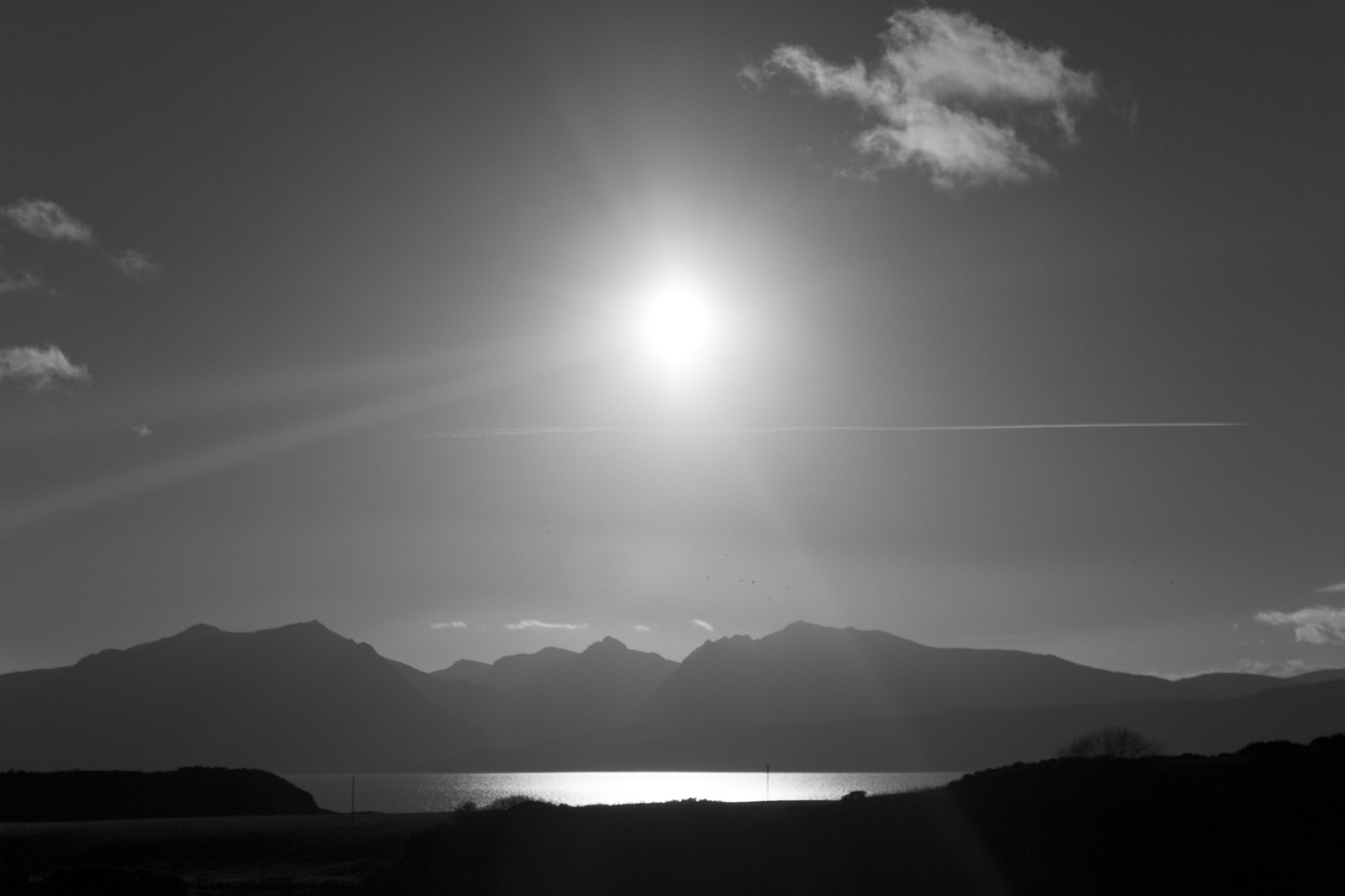 Sun Over Arran