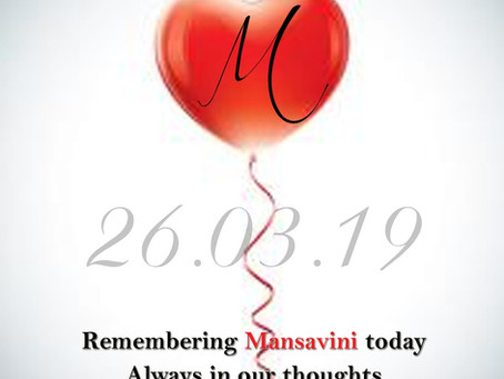 MANSAVINI.  NEVER FORGOTTEN