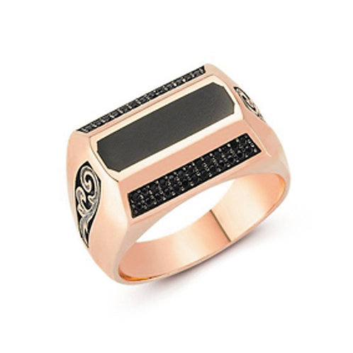 Classic Solid Sterling Silver Mens Ring