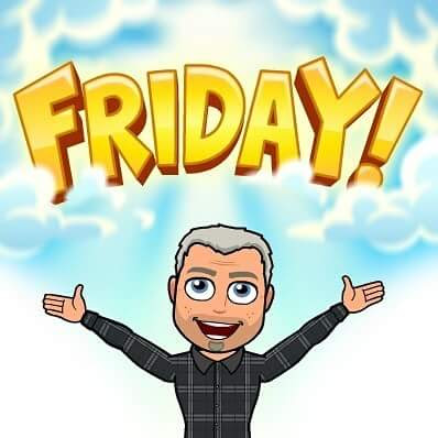 friday bitmoji