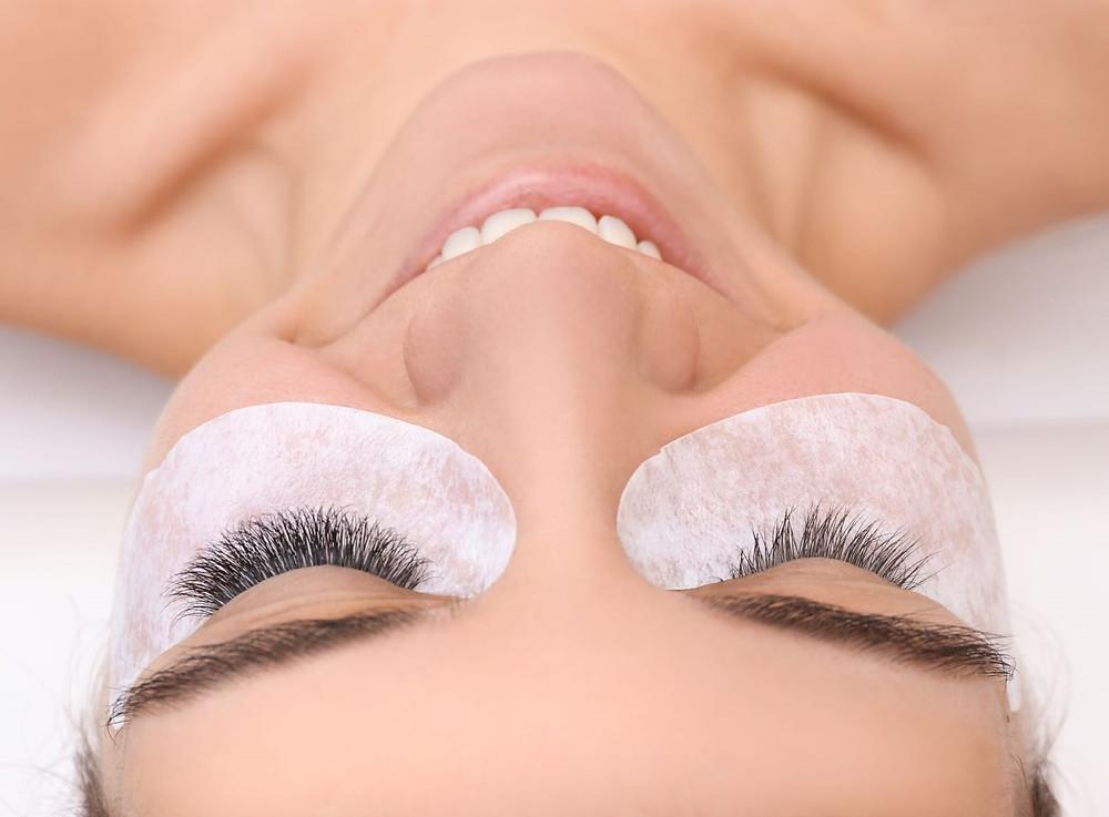 Cerise eyelash extensions