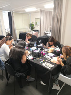 Eyelash extension workshop
