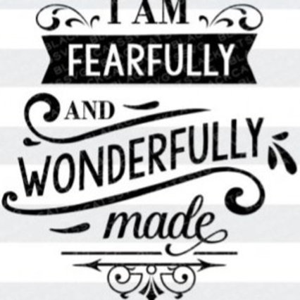 03-15-20: I am Fearfully and Wonderfully Made - 9th Declaration