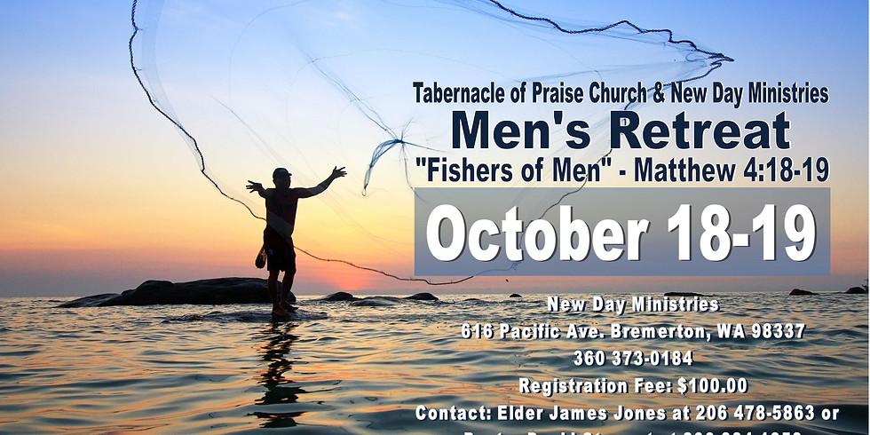 """""""Fisher of Men"""" Men's Retreat"""