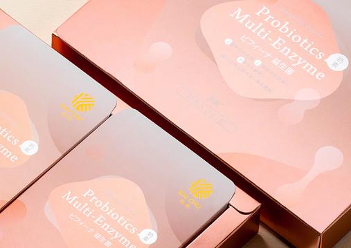 凱鉅-益生菌品牌包裝設計