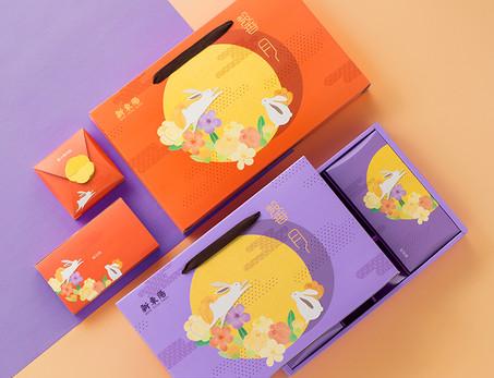新東陽好月禮盒包裝設計