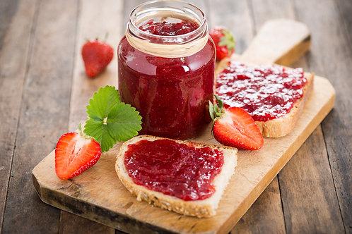 Homemade Organic Strawberry Jam