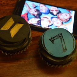 bts army cupcakes