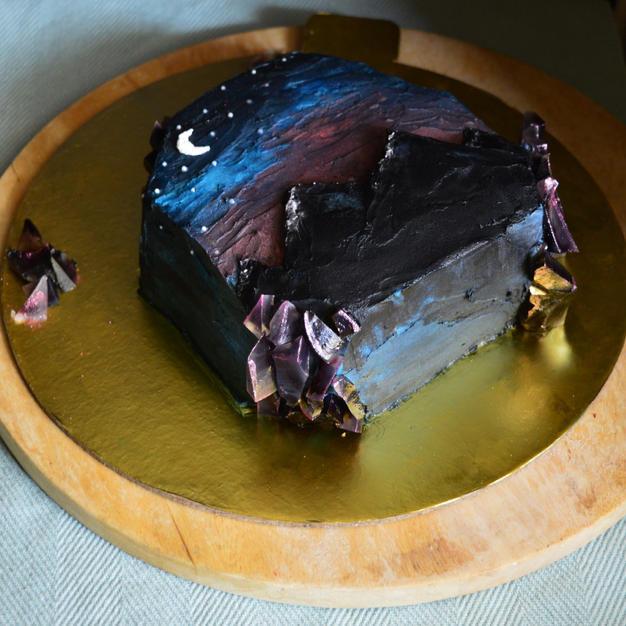 Moon Child Cake