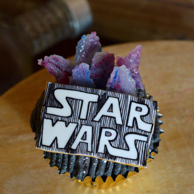 Stars wars cupcakes