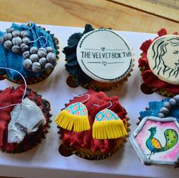 Jewellery cupcakes