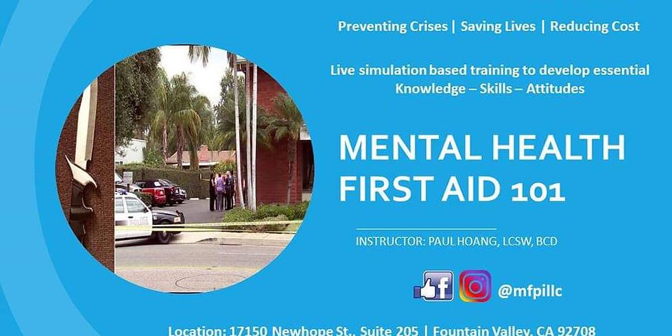 Mental Health First Aid 101