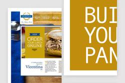 Vicentina Fine Foods Website & Menu