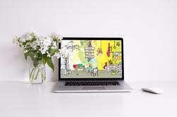 MerryBerry Cafe Website