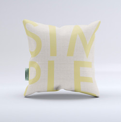 SimplyD Branded Pillow