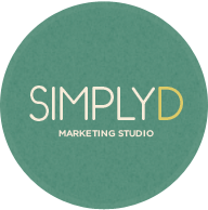 SimplyD Marketing Design Studio Logo