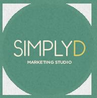 SimplyD Marketing Design Studio Logo