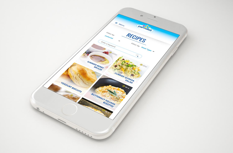 Parmalat Food Services Mobile