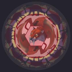 Smilodon Mandala