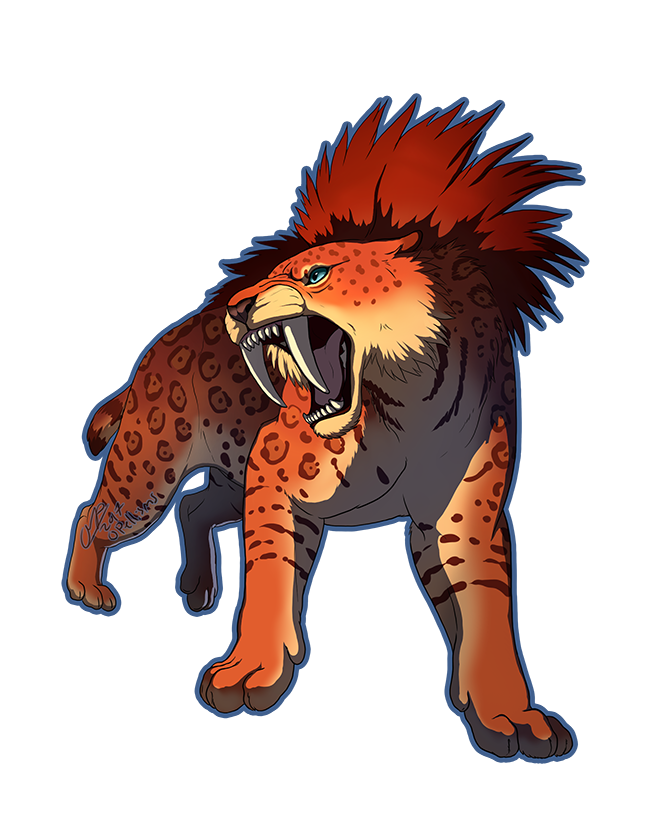 Sabertooth character design