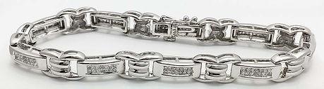 White Gold Diamonds Bracelt