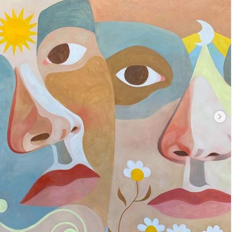 Les fleurs et le soleil d'Ines Longevial