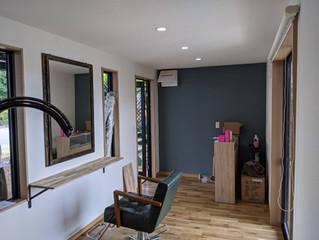 コンテナハウスの美容室