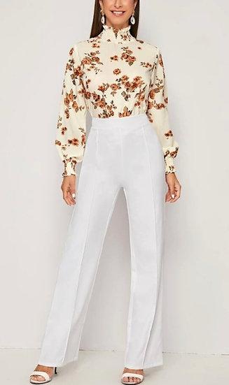Flowers print blouses