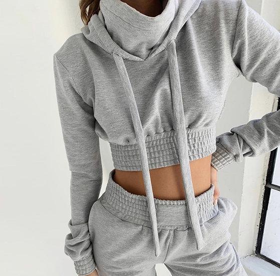 Hooded Long Sleeve sport sets