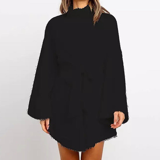 Dress Casual Turtleneck Fleece