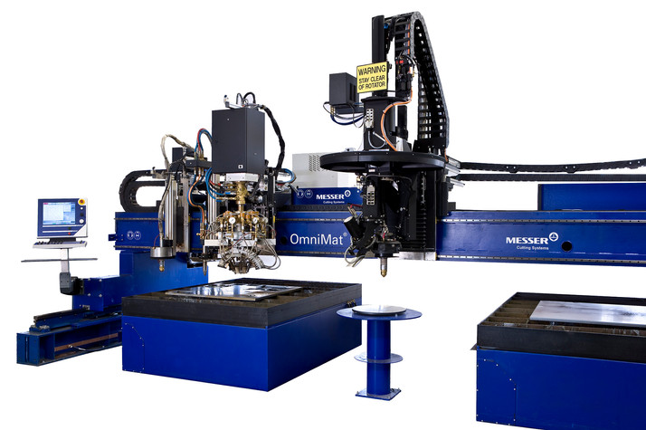 Heavy Duty Plasma & oxyfuel cutting machines