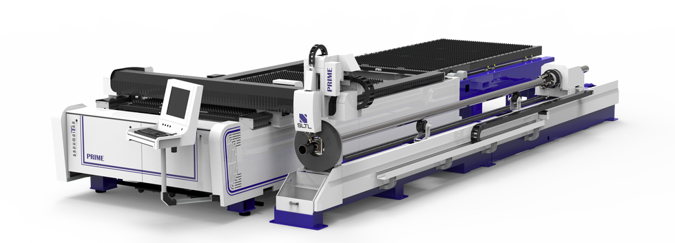Dual Pallet machine with 6 m Tube cutting