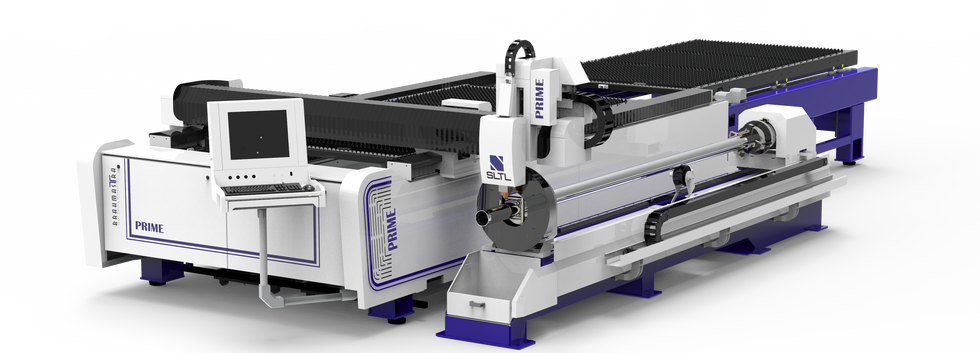 Dual Pallet machine with 3 m Tube cutting